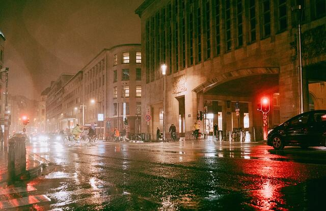 Brussels Rain