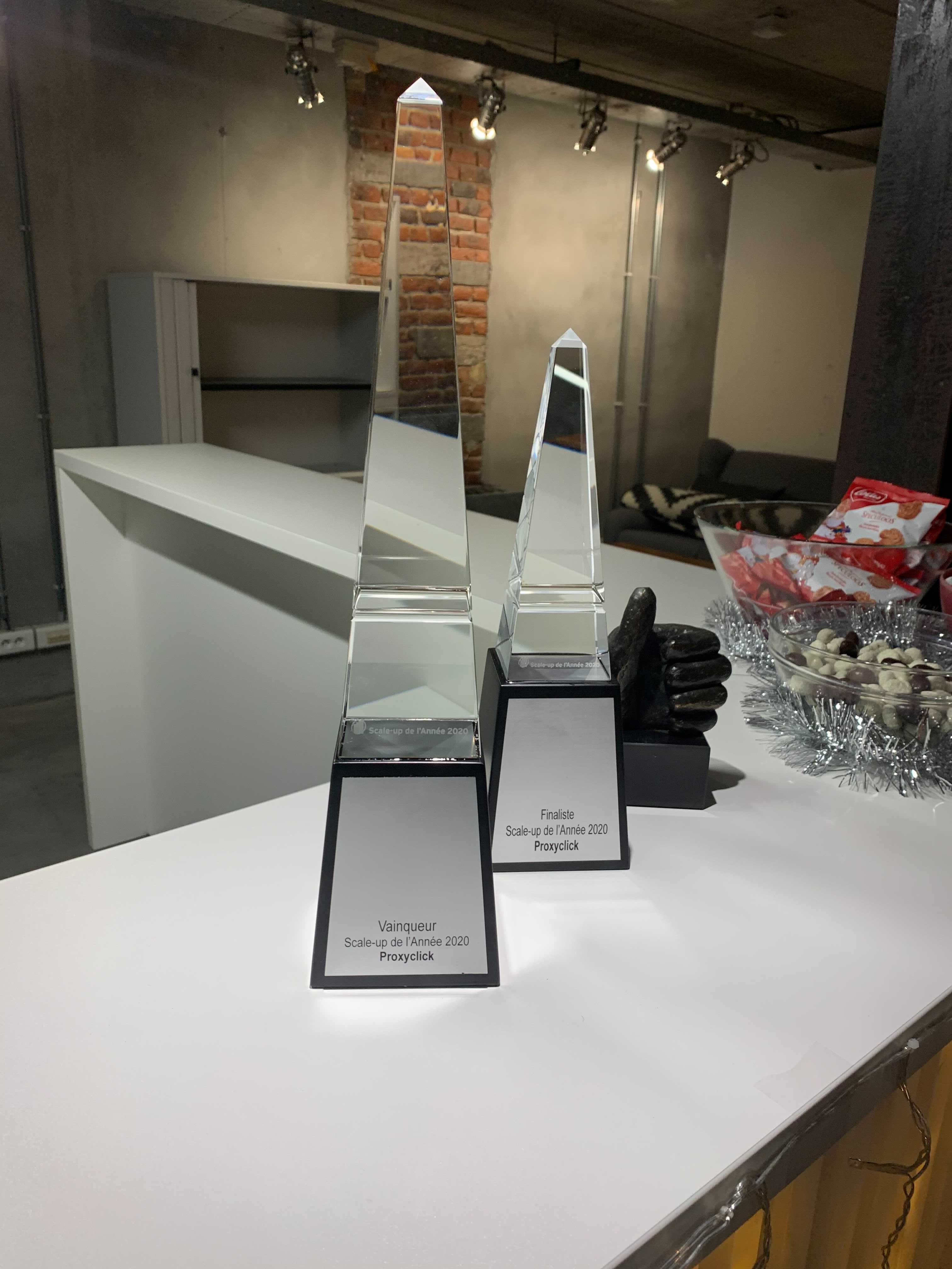 EY Scale Up of the Year trophy