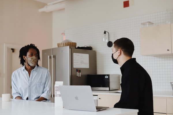 HR guide to access blog - people wearing masks