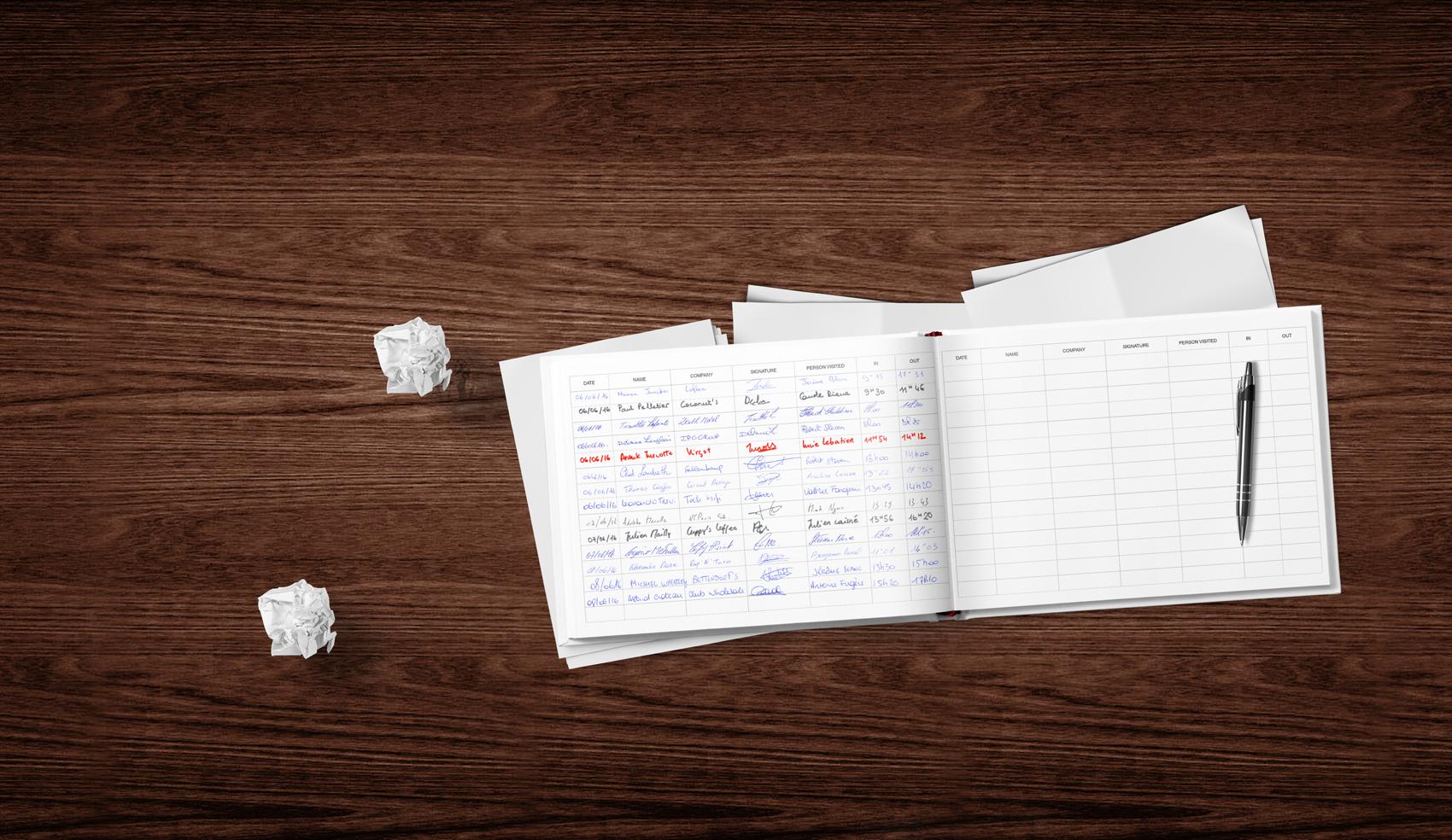 paper-logbook