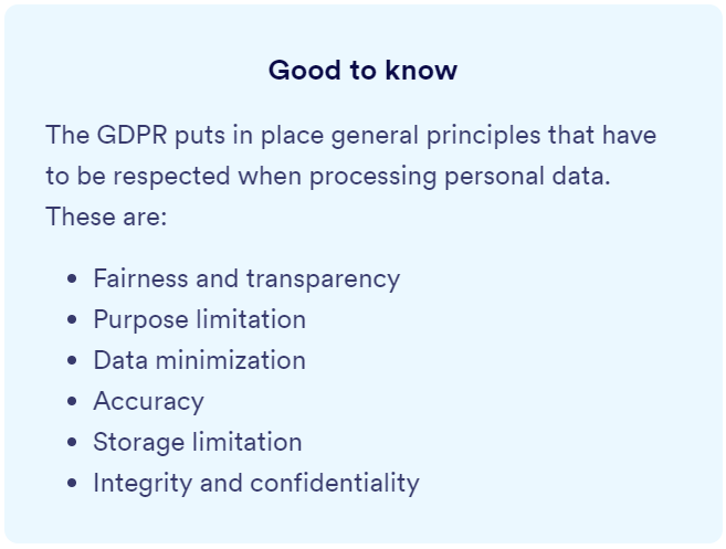 gdpr and visitor management