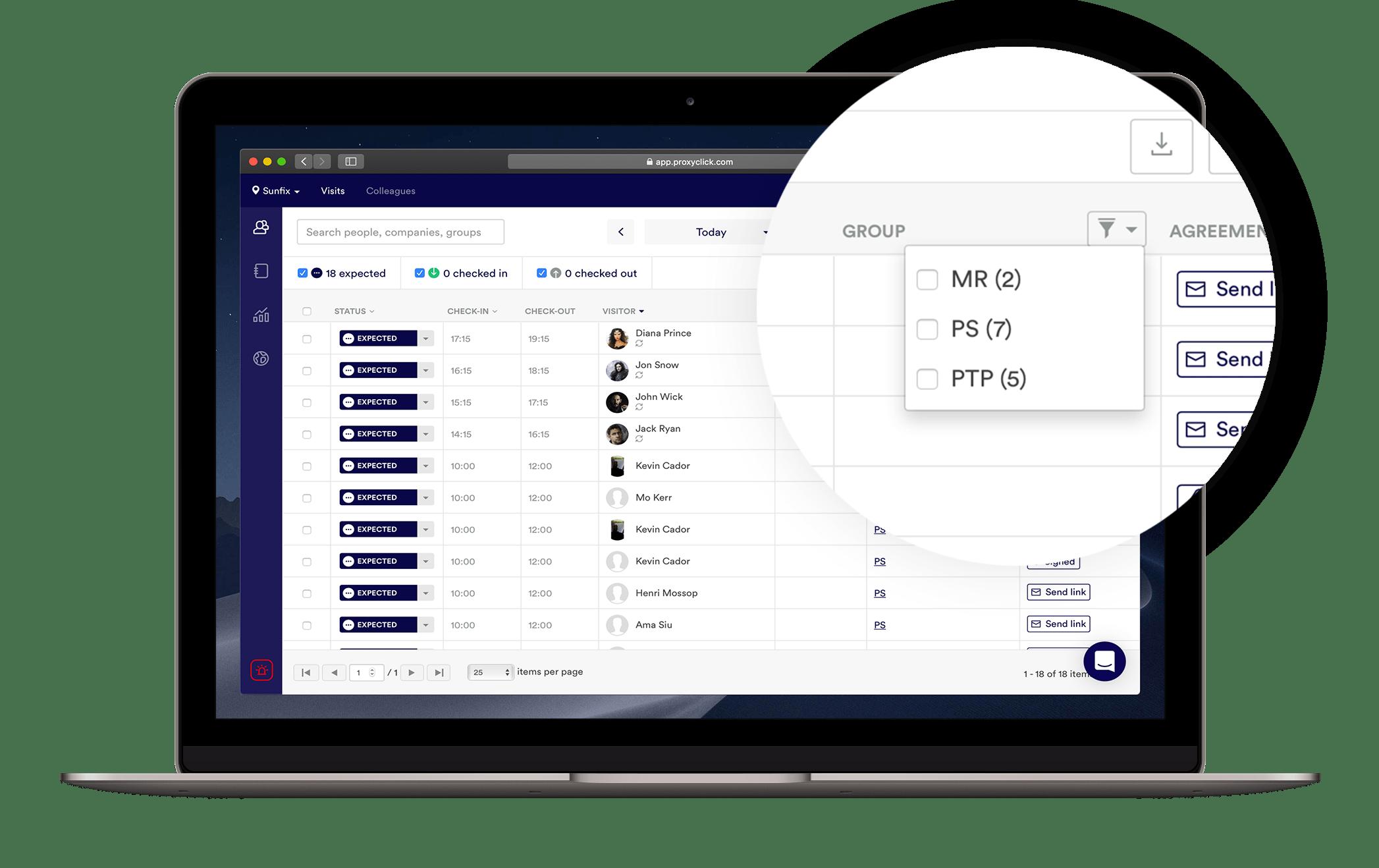 Product updates | Proxyclick