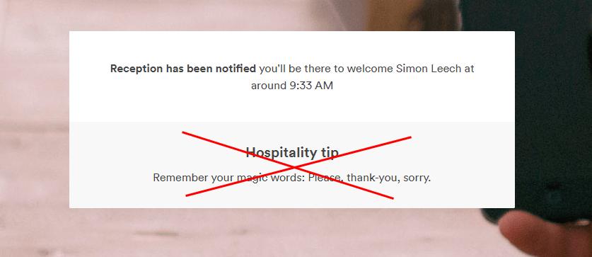 6.8 hospitality tips